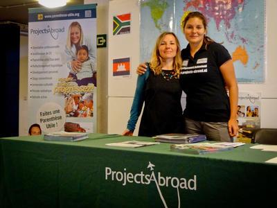 プロジェクトアブロードと海外で国際協力!