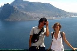 喜望峰ツアーの途中の写真
