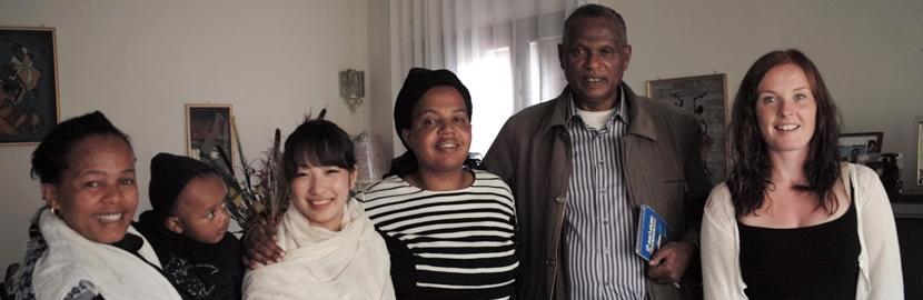 海外ボランティア+異文化交流!エチオピアのホストファミリーとボランティアたち