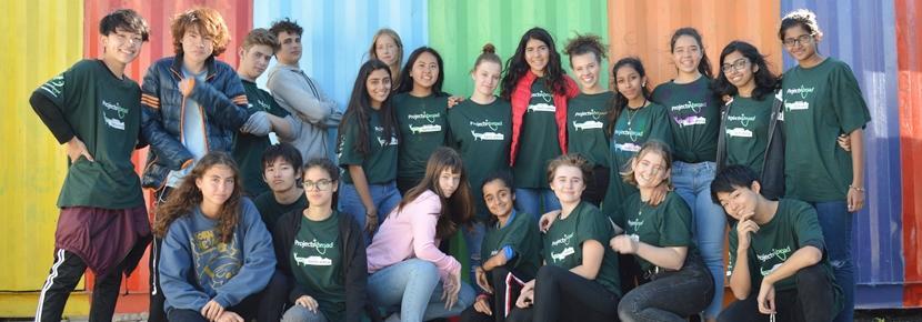 南アフリカに集結した高校生ボランティアたち