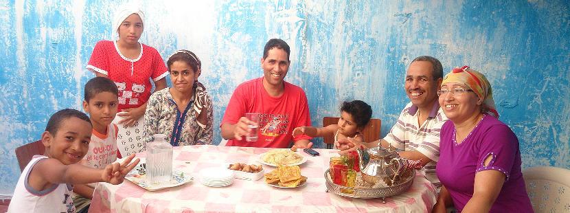 海外ボランティアをしながら異文化交流 モロッコでホームステイ