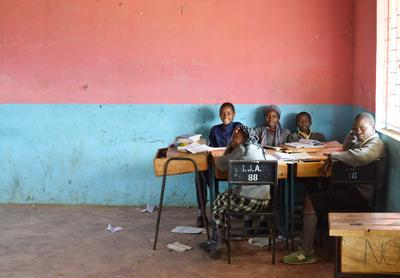 短期海外ボランティア アフリカの子供たち