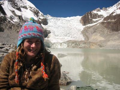 ボリビア、プロジェクト休暇中に旅行をするボランティア