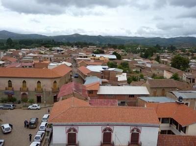 ボリビアのコチャバンバの街
