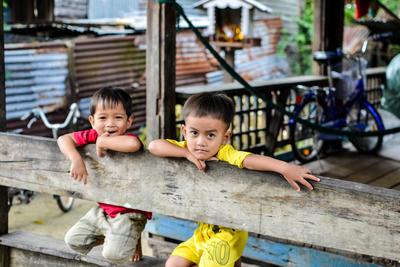 カンボジアで海外ボランティア・インターンシップ 現地の子供たち