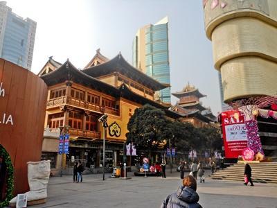 上海の都市の風景