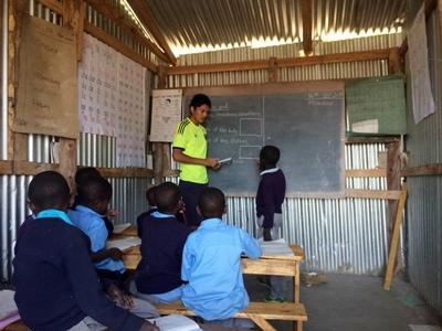 マサイ村落開発プロジェクトのボランティア
