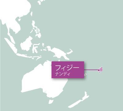 南太平洋の地図 フィジー