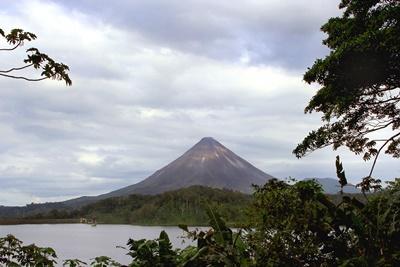 コスタリカの火山