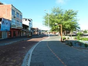 南米、エクアドル、プロジェクトアブロード活動地のローカルストリート