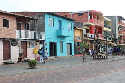 エクアドルで海外ボランティア・インターンシップ ガラパゴスの街の様子