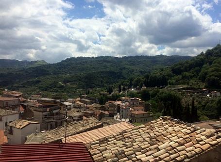 イタリア南部のカラブリア州の風景