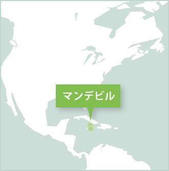 ジャマイカ、mandevilleのボランティア活動地マップ