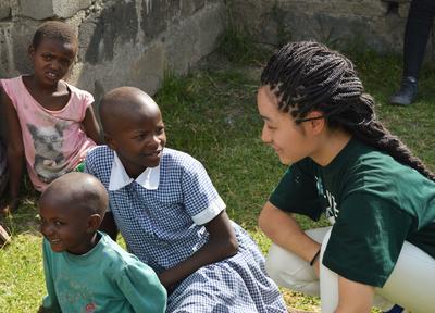東アフリカのケニアで海外ボランティア