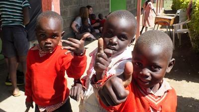 ケニアの子供たち