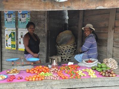マダガスカルで海外ボランティア 現地のマーケットの様子
