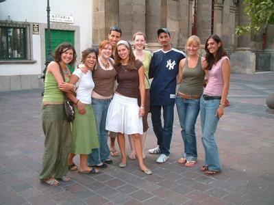 メキシコ、プロジェクトアブロードボランティアとインターングループ