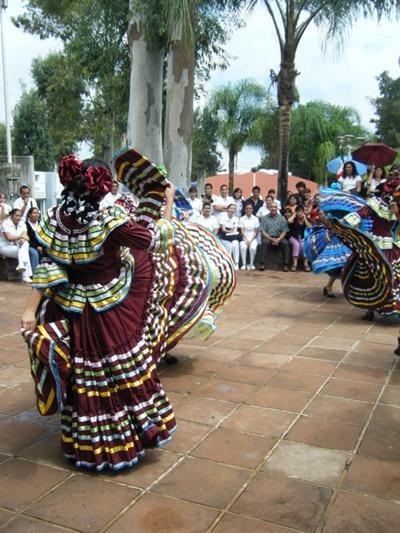 メキシコの町並み