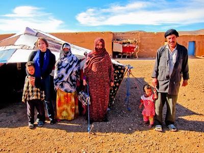 モロッコの遊牧民