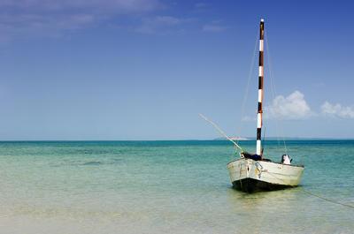 モザンビーク訪問者を魅了する美しいインド洋
