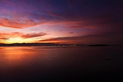 セブ島の夕陽