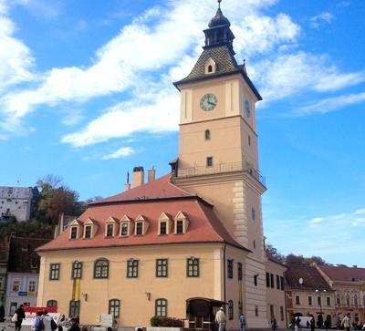 The city of Brasov, Romania.