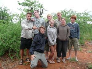 南アフリカ、環境保護プロジェクト参加ボランティアグループ