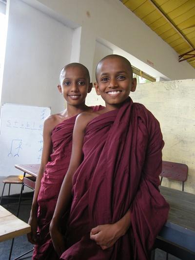 スリランカの子供たち