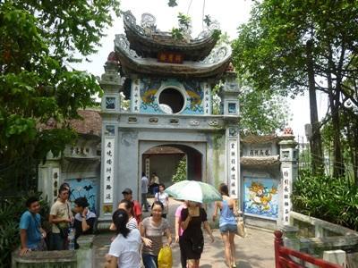 ベトナムの観光名所の寺院