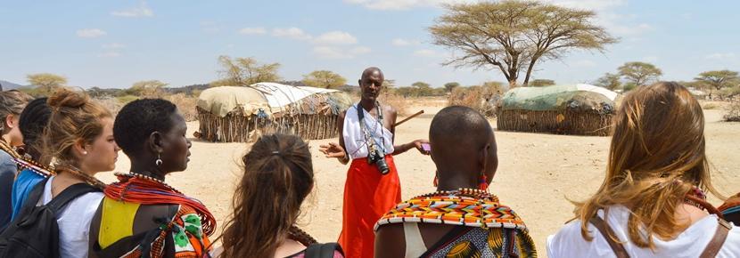 アフリカで異文化体験の海外ボランティア
