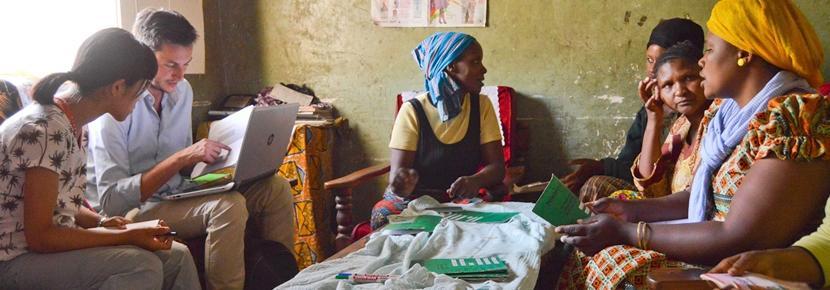 アフリカでマイクロファイナンスの海外インターンシップ