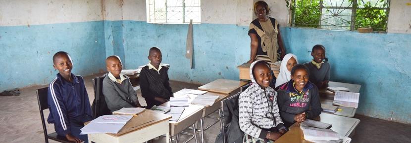アフリカで教育の海外ボランティア