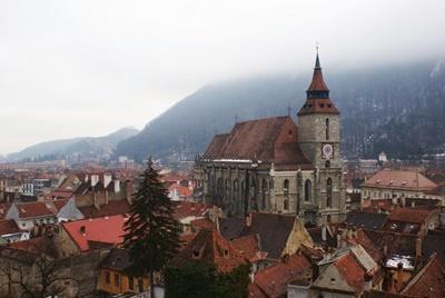ルーマニアの都市にある美しい歴史的建物