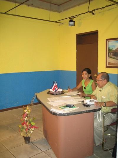 南米のジャーナリズム活動の現場スタッフ