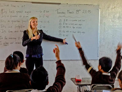 メキシコで英語教育に貢献する海外ボランティア