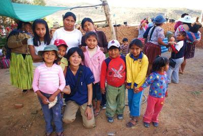 南米で海外ボランティア ボリビアで医療プロジェクトに参加中の日本人インターン