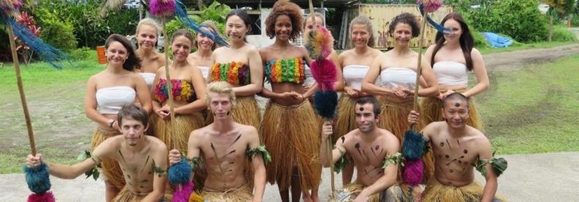 南太平洋で異文化体験の海外ボランティア