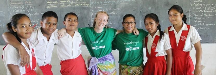 南太平洋で教育の海外ボランティア