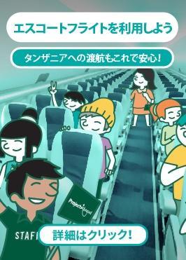 エスコートフライトを利用した海外ボランティア・インターンシップ