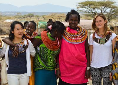アフリカで海外ボランティアに参加しよう ケニアの部族と異文化交流を楽しむ日本人ボランティア