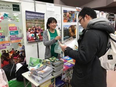 イベントでアンバサダーとして活躍する日本人体験者