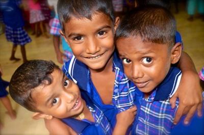 スリランカでチャイルドケアの海外ボランティア 現地の子供たち