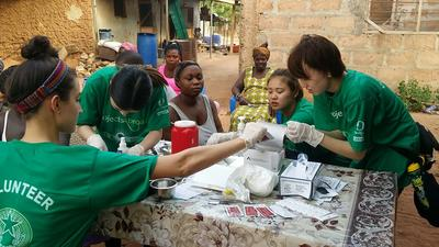 春休み限定ガーナで公衆衛生の短期海外ボランティア