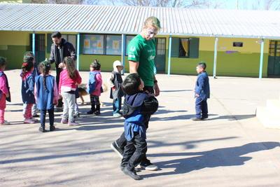 アルゼンチンの幼稚園でチャイルドケアの海外ボランティア