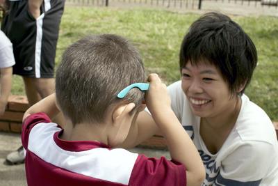 コスタリカでチャイルドケアの海外ボランティアに貢献する日本人ボランティア