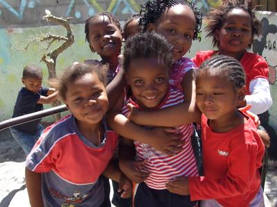 南アフリカでチャイルドケアの海外ボランティア 現地の子供たち