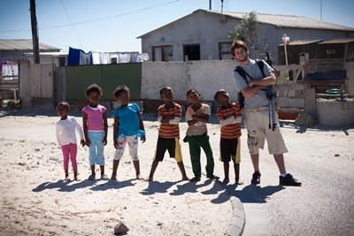 南アフリカ、ケアセンターで子どもと遊ぶプロジェクトアブロードボランティア