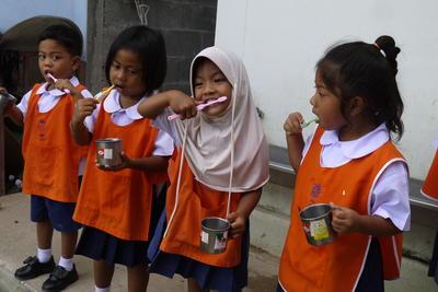 タイで海外ボランティア ケアセンターの現地の子供たち