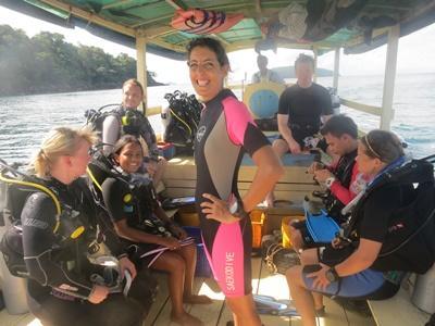 カンボジア環境保護ボランティア ダイビングによる海洋保護活動