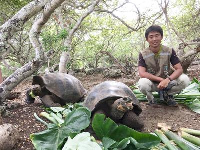 南米エクアドルで環境保護活動 現地で活躍する日本人ボランティア